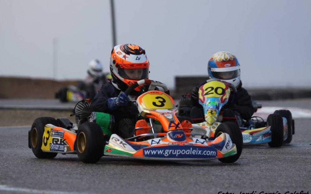 Grupo Aleix patrocina a los hermanos Fontecha, campeones de Cataluña de Karting 2015