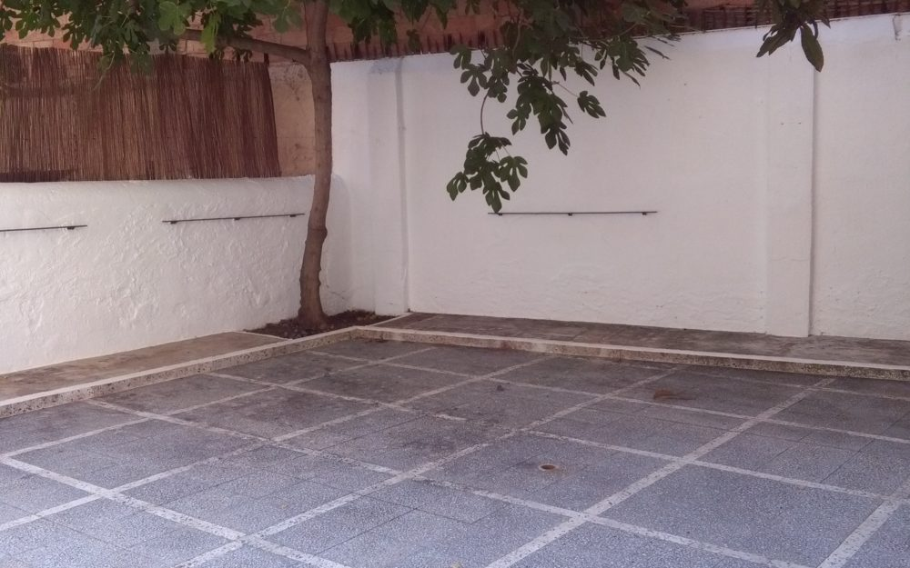 Planta baixa amb gran terrassa