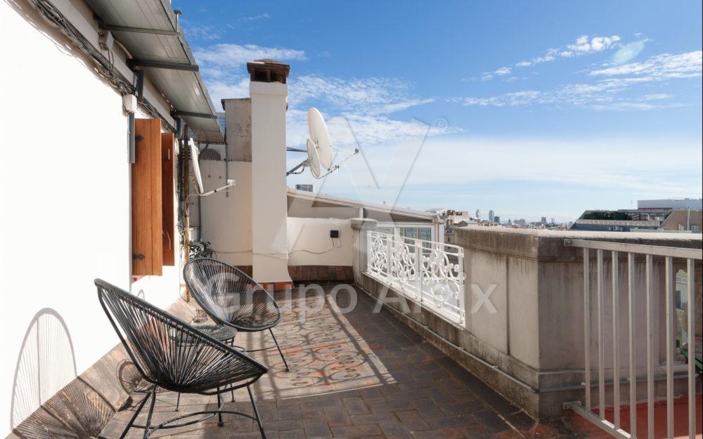 Atico con terrazas en Sant Gervasi Galvany